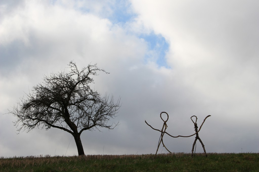 "Februar 2014,   ""Tänzer""   Fundholz bei Daufenbach a.d. Kyll"