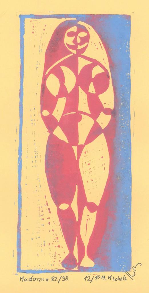 Linolschnitt- und druck, Manfred Michels Nr.5